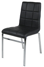 Polsterstuhl Linda 2er Set Stuhl in 4 Farben Esszimmer Stühle Verchromt Küche