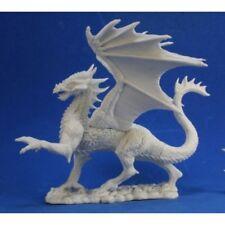 REAPER MINIATURES BONES - 77329 Silver Dragon