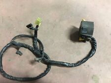 SUZUKI GSXR 750 1991 M COMANDO SINISTRO LEFT SWITCH COMMUTATEUR LENKERSCHALTER
