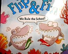 Flip & Fin: We Rule the School by Gill & Numberman new hardcover book
