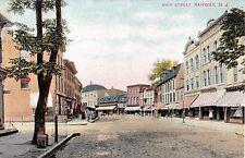 c.1910 Stores Main St. Rahway NJ post card