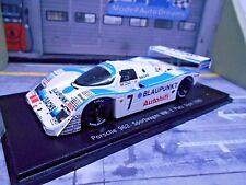 PORSCHE 962C 962 C Dijon WM 1989 #7 Blaupunkt Wollek Win Joest 1/300 Spark 1:43
