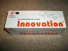 SEGA DREAMCAST - INNOVATION - SUPER RGB + 2AV SCART LEAD (NEW & BOXED)