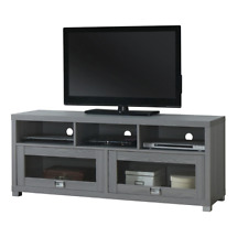 TV Stand 50 55 65 75 in Flat Screen Entertainment Media Center Console Furniture