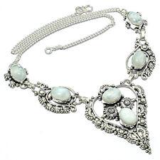 "Handmade Jewelry Necklace 18"" Lj Rainbow Moon Stone, Rainbow Moon Stone"