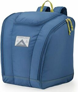 High Sierra Ski Snowboard Boot Bag Rustic Blue/Avocado One Size 53892-7372