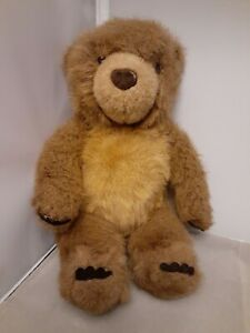 1998 Gund 12 Inch Brown Little Bear Plush Stuffed Animal