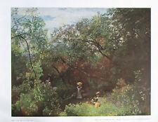 Emil Jakob Schindler: Park in Plankenberg - Reproduktion österreichische Kunst