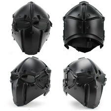Helmet Airsoft Paintball CF Game Full Face Mask Tactical Protective SP