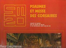 Psaumes Et Messe Des Corsaires Basques Moines De Belloc et Les Begiraleak  33T