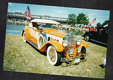 Photograph Cool Old Vintage Car Parked in Parking Lot #2