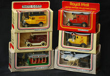 Lledo Days Gone Model Vehicles x 6, lot of 6, Horse Drawn Tram, Fire, Marcol +