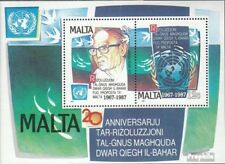 Malta block10 (complete issue) unmounted mint / never hinged 1987 UN- Resolution