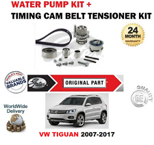 Per VW Tiguan 2.0 TDI 16V BLUEMOTION 2007-2017 Timing Cam Belt Kit + POMPA ACQUA