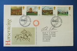 1979 HORSERACING FIRST DAY COVER SIGNED BY MARK PITMAN