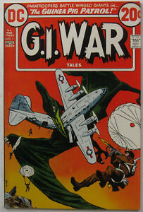 G.I. War Tales #1 (Mar-Apr 1973, DC), FN condition, dinosaur cover & story