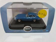 Oxford Diecast 76ETYP010 Jaguar E Type Coupe Bluebird Blue Donald Campbell 1/76