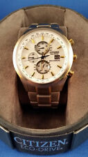 Citizen AT8014-57A Eco-Drive World Chronograph Perpetual Radio Control Wirstwatc