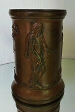 Vase/Pot en Bronze décoré de scène à l'antique Barbedienne 19eme