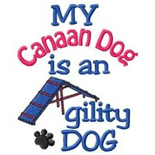 My Canaan Dog is An Agility Dog Long-Sleeved T-Shirt Dc1748L Size S - Xxl
