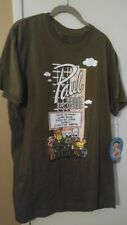 New w/tags Paul Frank Short Sleeve Olive Green T-Shirt XL Men's Awesome!!