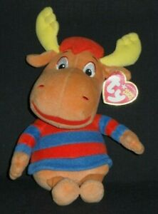 TY TYRONE the MOOSE BEANIE BABY (BACKYARDIGANS) with TAG - SEE PICS #2