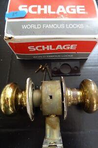 Vintage Schlage Doorknob Assembly
