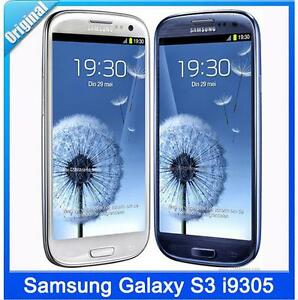 "Original Unlocked Samsung Galaxy S3 i9305 Android 3G 4G Network GSM 4.8"" 8MP"