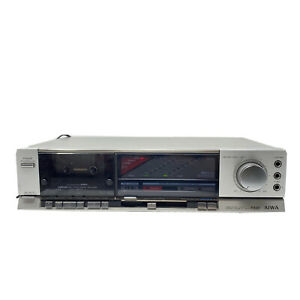 Vintage AIWA F220 Stereo Cassette Tape Deck Timer Standby System READ