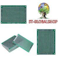 POSTA1 Basetta piastra ramata PCB vetronite 1,5mm 75x100 singola mono faccia
