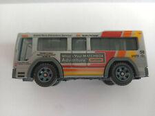 Brand new loose gray Matchbox City Bus MBX Service Crew