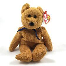 Ty Beanie Baby Original Fuzz The Bear Plush With Tag Errors Retired