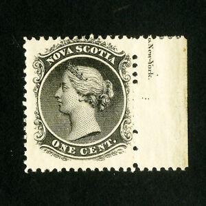 Nova Scotia Stamps # 8 VF Impt single OG NH
