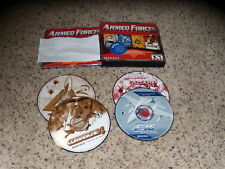 Armed Forces Collection (PC, 2000) Games Near Mint with keys