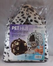 Finelife Pet Products Pet Hut For Small Pets - New - Animal Print
