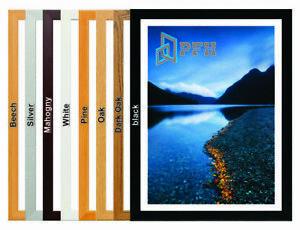 Bespoke Black White Photo Frames Picture Frame A1 A2 A3 A4 A5 Wood Modern Frames