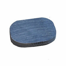 HORNSCHEIBE Wasserbüffel Horn Platte Messerbau Griffe-Abschluß oval 30x20x3