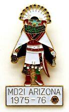 Pin Spilla Lions International MD2I Arizona 1975-76