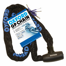 Oxford OF178 Chain Lock Motorcycle Security - 1.5m. X 8mm.