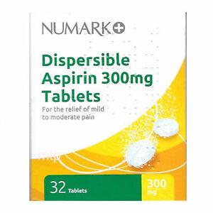 Numark 300mg Pain Relief Dispersible Tablets 32 - (MAX 1 UNIT PER TRANSACTION)