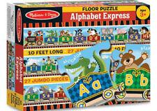Melissa & Doug Alphabet Express 27 Piece Jigsaw Floor Puzzle MND4420