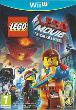 THE LEGO MOVIE VIDEO GAME for Nintendo Wii U - with box & manual - PAL