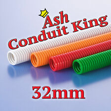 32mm Polypropylene Flexible Conduit Cable Tidy LSOH Various Colours 1-25M