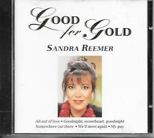 SANDRA REEMER - Good for gold CD Album 19TR Holland 1996 (Disky)