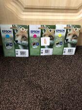 Epson Ink Cartridges T1284, T1282, T1283