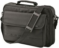 "NEW LARGE DELUXE STRENGTH TRUST 17.4"" NOTEBOOK LAPTOP CARRY BAG CASE, BLACK 3650"