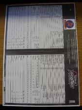 23/09/2007 Cricket Scorecard: Middlesex Crusaders v Northampton Steelbacks [Tote