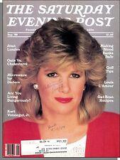 The Saturday Evening Post - 1988, September - Joan Lunden, Kurt Vonnegut, Oats
