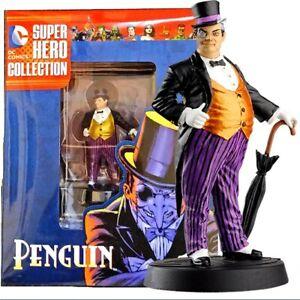 Penguin Figurine DC Comics Super Hero Figure Collection Resin Eaglemoss DC06 N52