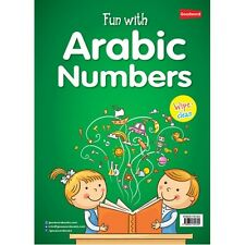 Fun WIth Arabic Numbers Activities For Kids Colour PB Wipe